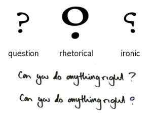 rhetorical mark